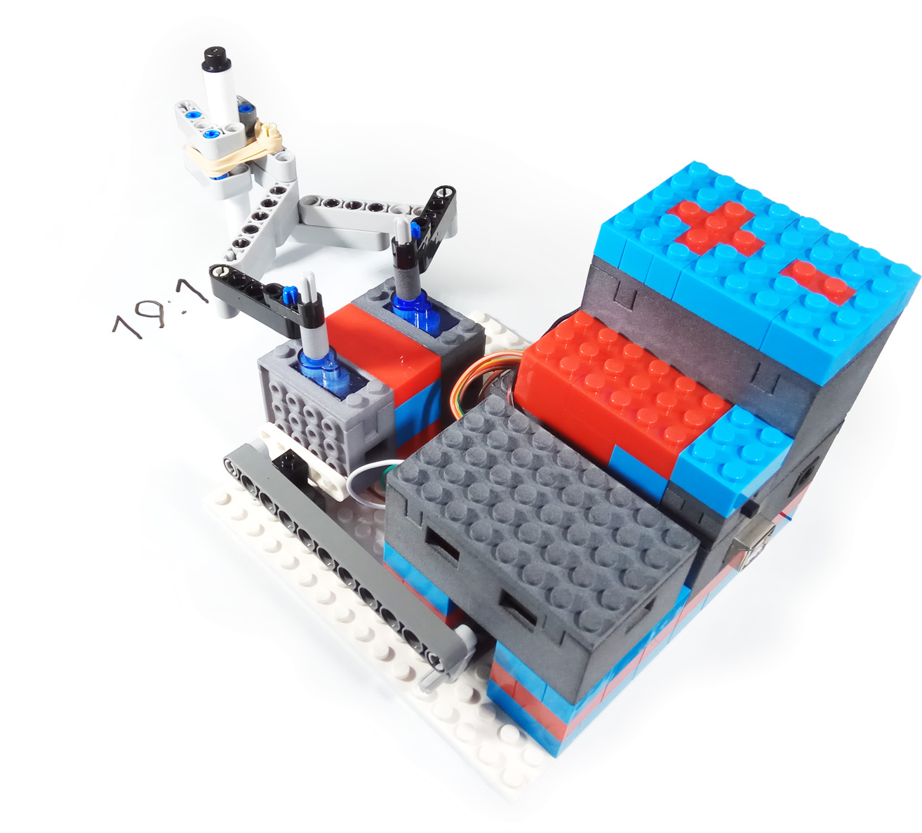 Lego Robotsblog Digital Voice Record And Playback Project By Isd2560p Eeweb Leguino Delivers Standard Brick Compatible Cases For Common Arduino Raspberry Pi Electronic Components To Enhance Projects Opens Them