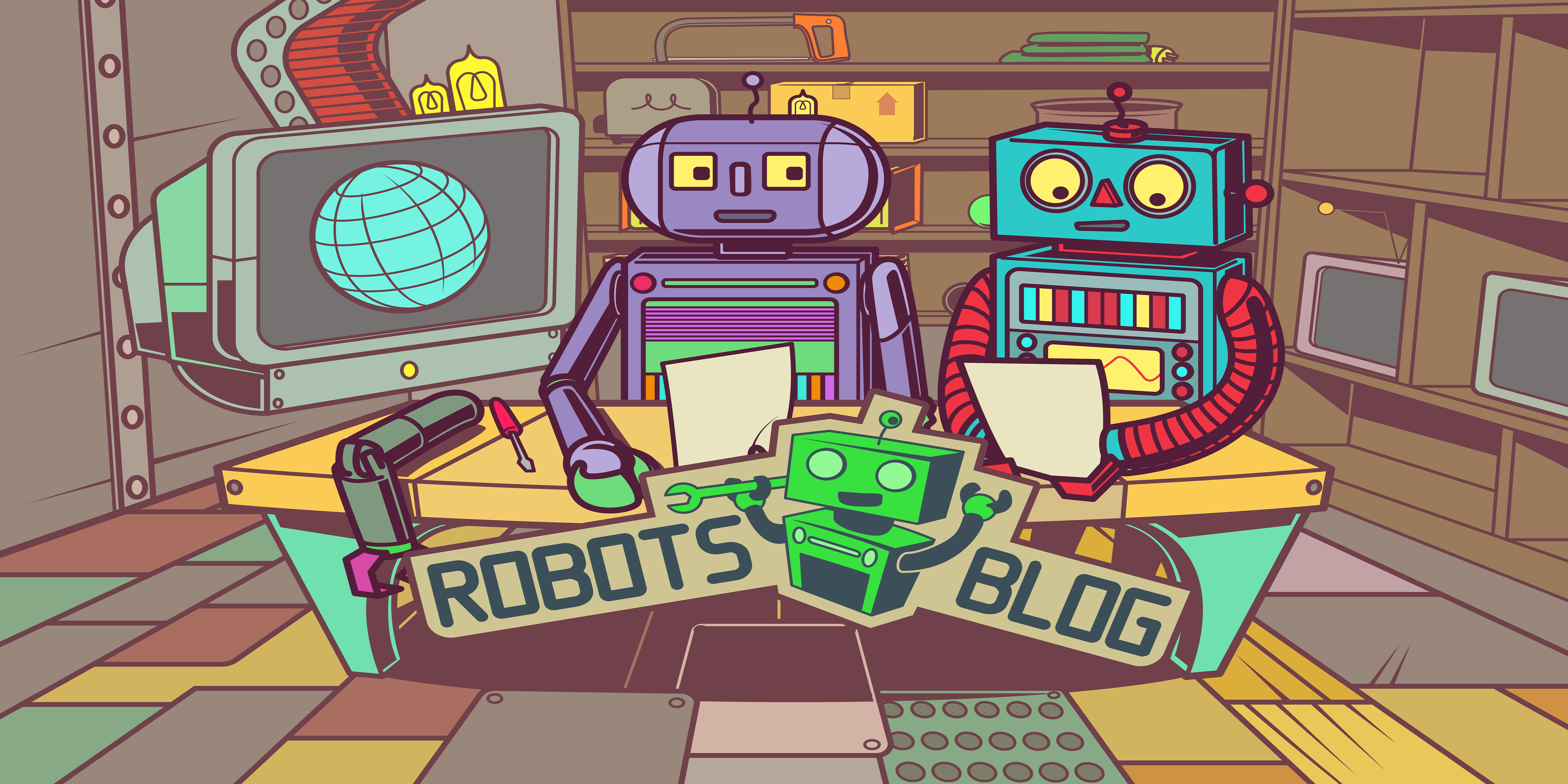 Robots Blog News about robots and robotics