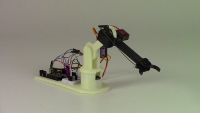 3D Printed Robot Arm for STEM Created by Idaho Startup | RobotsBlog